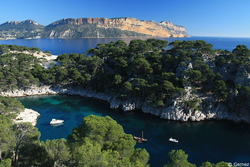 La calanque de Port Pin